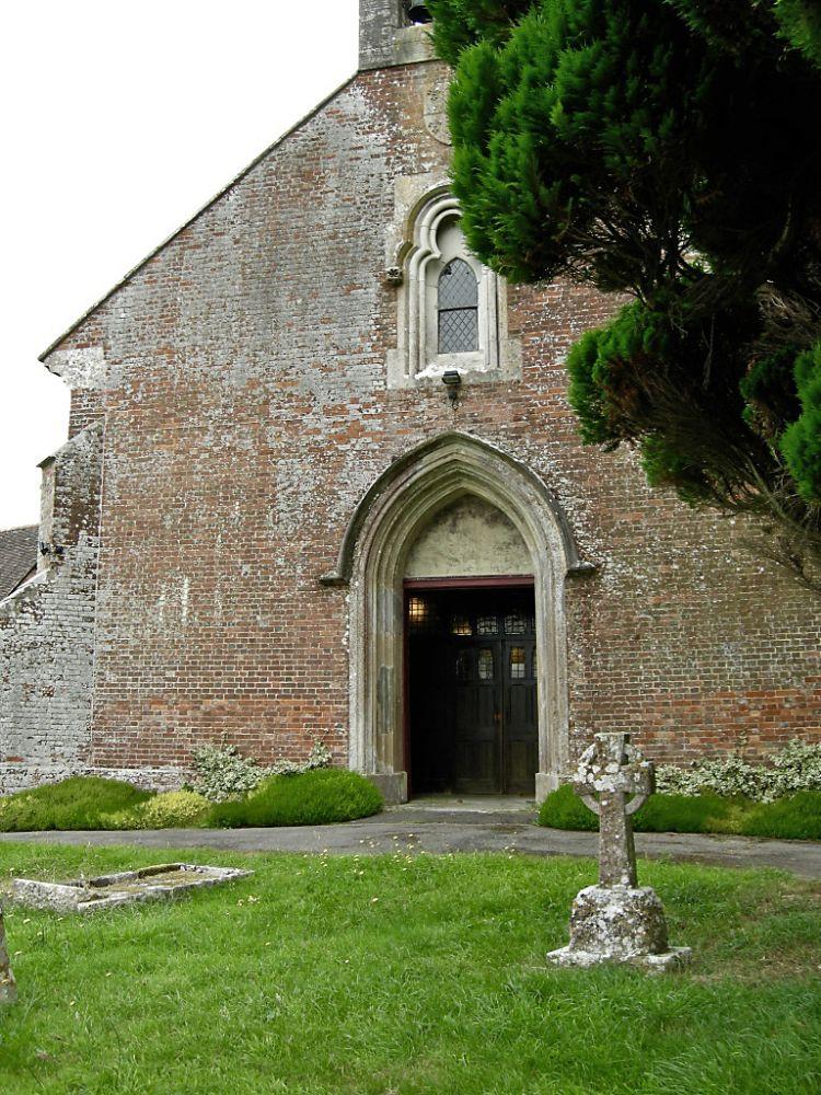 Holt St James, west door