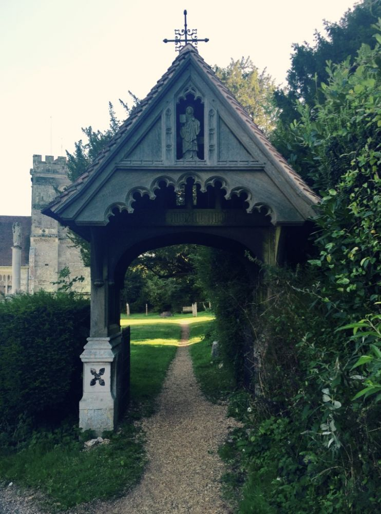 Lychgate at Witchampton
