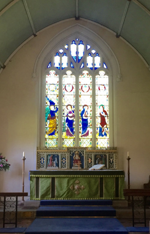 Witchampton Stained Glass Window