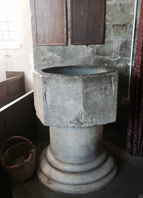 The Font at Witchampton